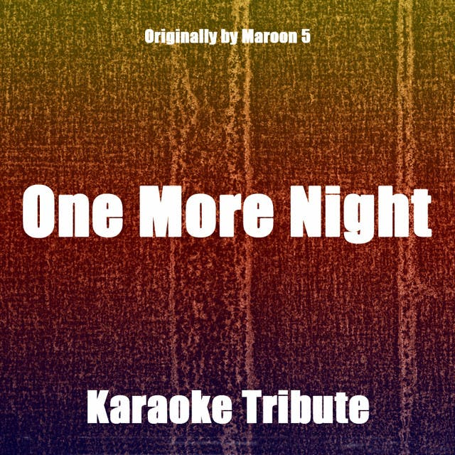 Karaoke 2012 - Tribute To Maroon 5