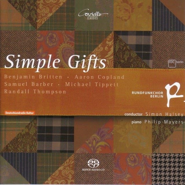 Choral Concert: Berlin Radio Chorus - Copland, A. / Britten, B. / Tippett, M. / Thompson, R. / Barber, S.