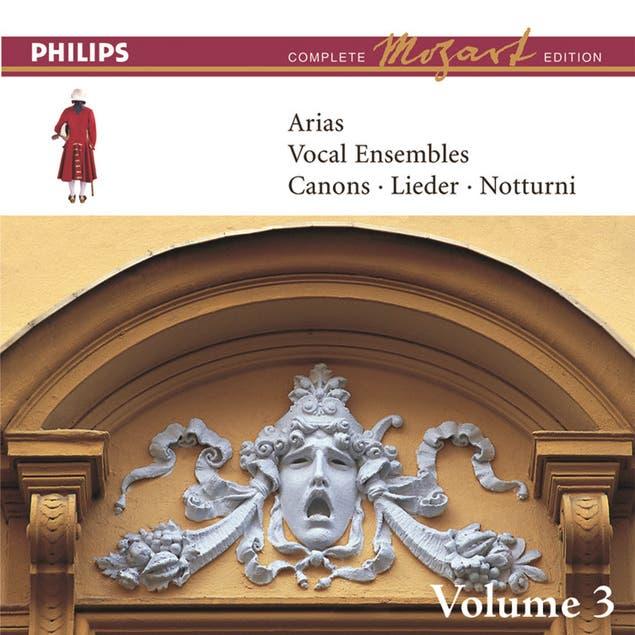 Mozart: Arias, Vocal Ensembles & Canons - Vol.3