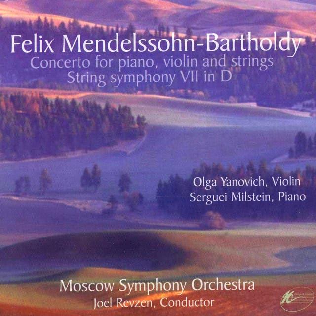 Olga Yanovich, Serguei Milstein, Moscow Symphony Orchestra & Joel Revzen