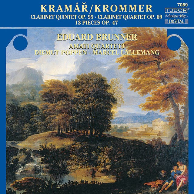 Franz Krommer: 13 Pieces/Clarinet Quintet, Op. 95/Partita, Op. 69