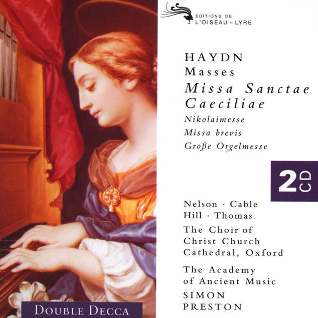 Various Artists & Choir Of Christ Church Cathedral, Oxford & The Academy Of Ancient Music & Simon Preston image