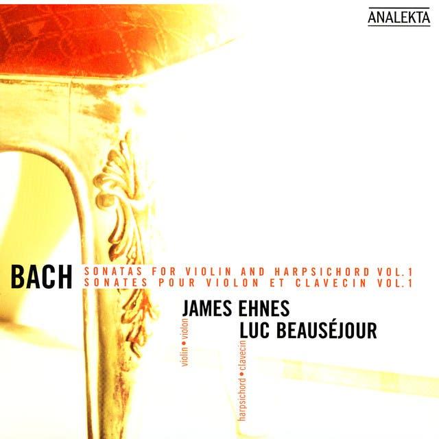James Ehnes: Piano, Luc Beauséjour: Harpsichord (Bach)