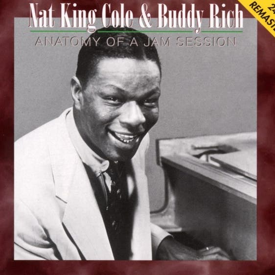 Nat King Cole & Buddy Rich image