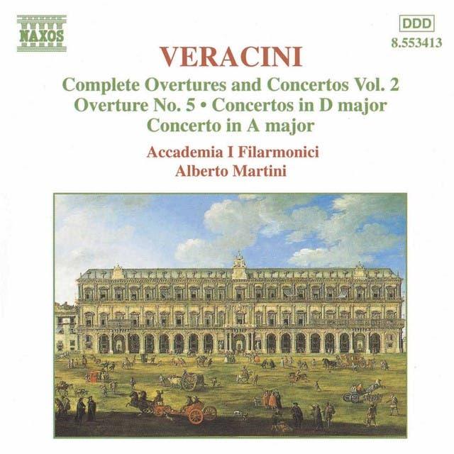 Veracini: Overtures And Concertos, Vol. 2