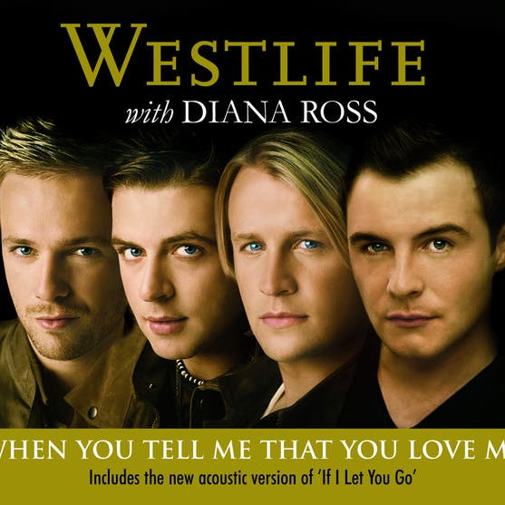Westlife With Diana Ross