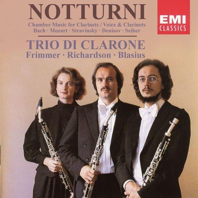 Notturni (Bach/Birtwistle, Mozart, C.P.E. Bach, Stravinsky, Denisov, Seiber)