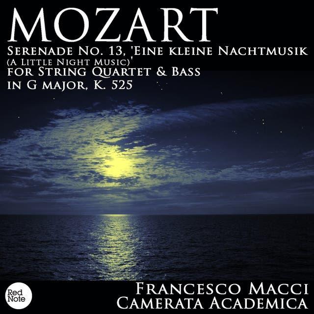 Camerata Academica & Francesco Macci