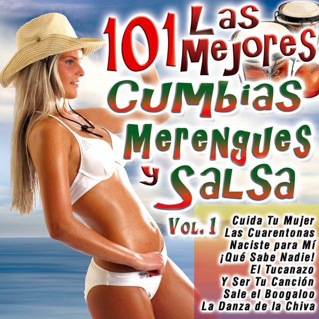 Las 101 Mejores Cumbias, Merengues Y Salsa Vol. 1