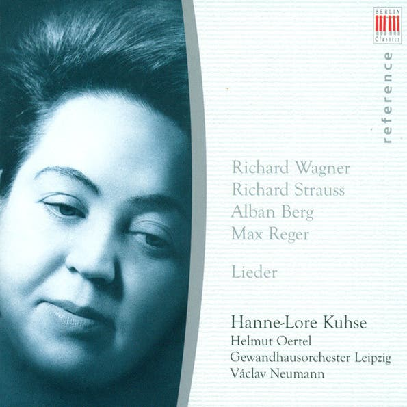 Vocal Recital: Hannelore Kuhse - WAGNER/ STRAUSS/ BERG/ REGER