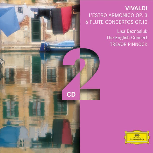 Vivaldi: L'estro Armonico; 6 Flute Concertos