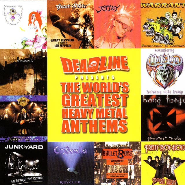 Deadline Presents: The World's Greatest Heavy Metal Anthems