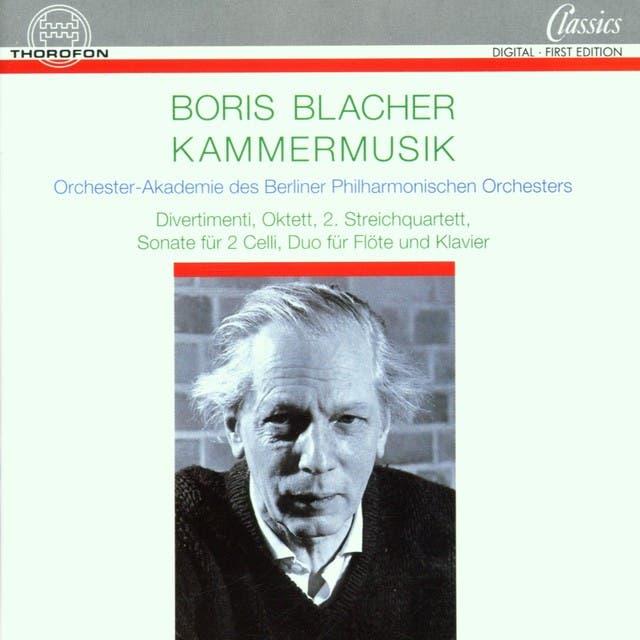 Orchester-Akademie Des Berliner Philharmonischen Orchesters