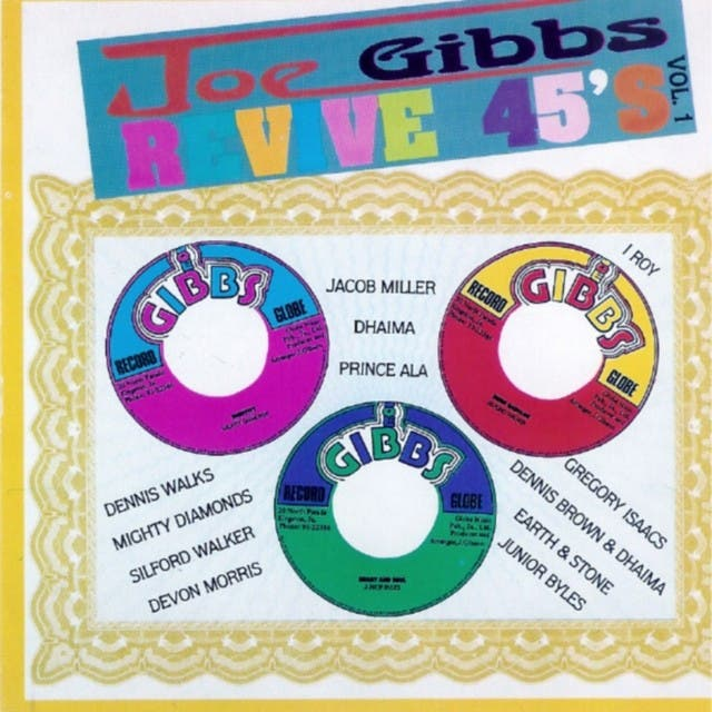 Joe Gibbs Revive 45s Vol 1