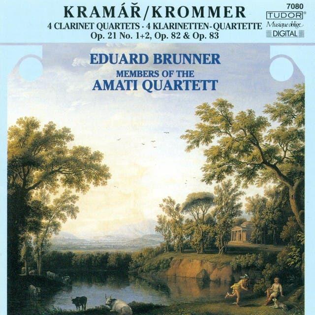 Krommer, F.: Clarinet Quartets, Opp. 21, 82, 83