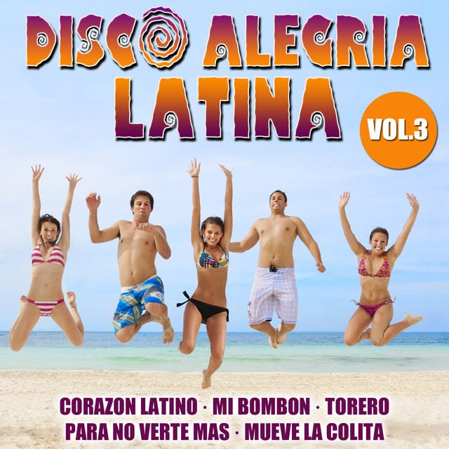 Disco Alegria Latina  Vol. 3