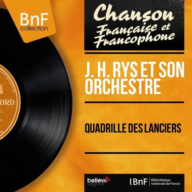 J. H. Rys Et Son Orchestre