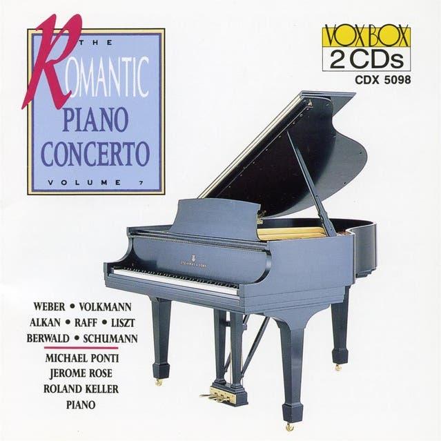 Romantic Piano Concerto, Vol. 7 (weber / Volkmann / Berward / Alkan / Raff / Liszt / R. Schumann)