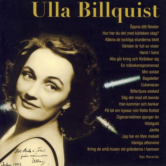 Ulla Billquist image