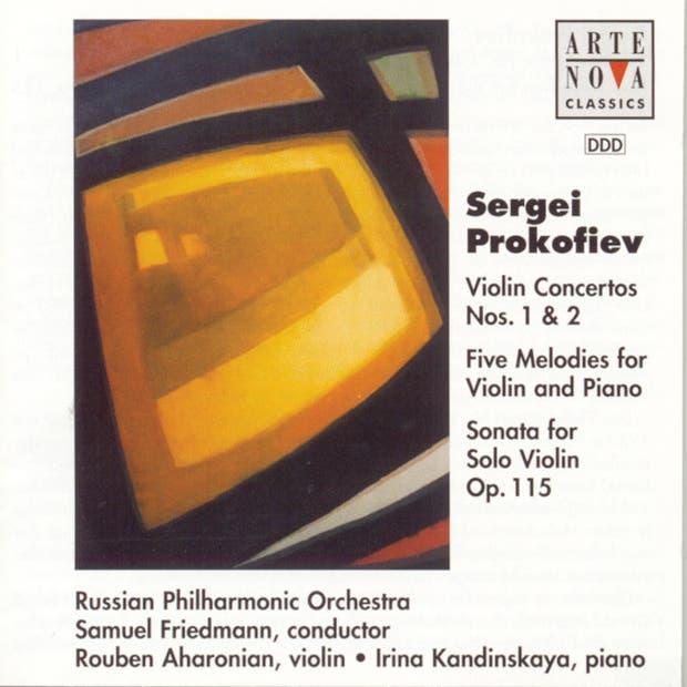 Prokofiev: Violin Ctos. No. 1 + No. 2 / Sonata For Violin Solo