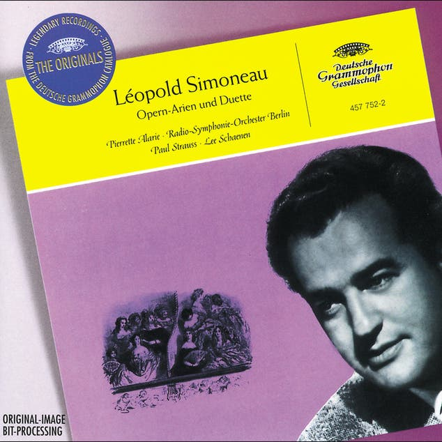 Léopold Simoneau - French & Italian Arias And Duets