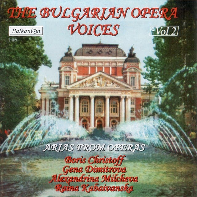 The Bulgarian Opera Voices - Vol.2