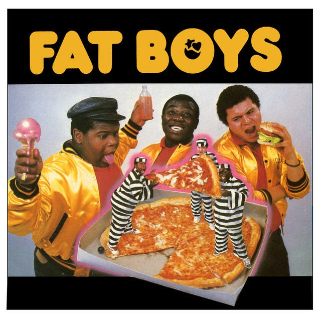 Fat Boys: Damon Wimbley, Darren Robinson, Mark Morales