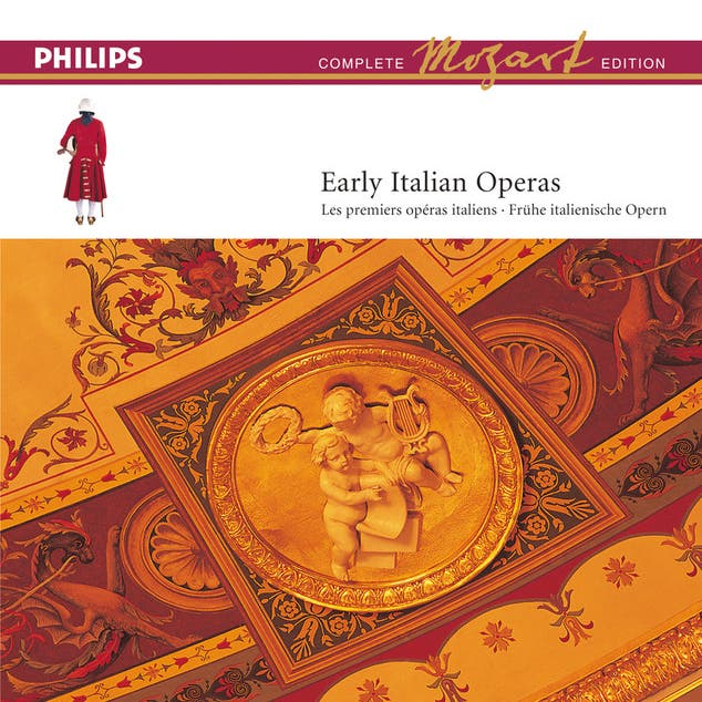 Mozart: Complete Edition Box 13: Early Italian Operas (13 CDs)