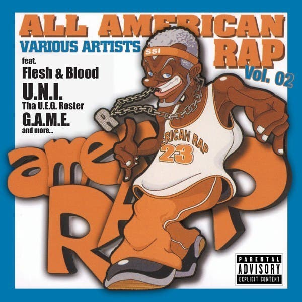 All American Rap Vol. 2