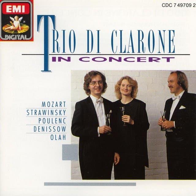 Trio Di Clarone In Concert