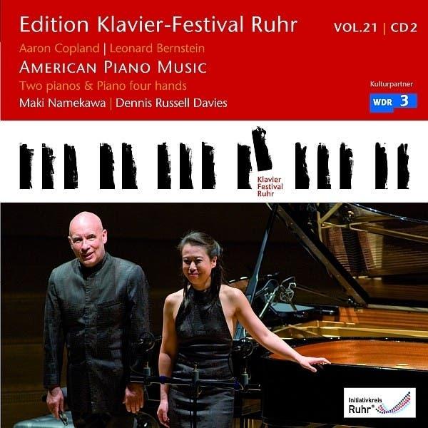 Edition Klavier-Festival Ruhr: American Piano Music (Works By Leonard Bernstein & Aaron Copland)