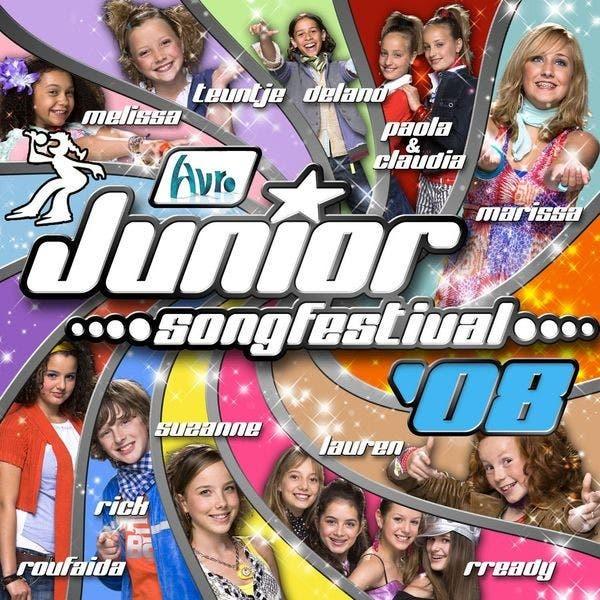 Finalisten Junior Songfestival 2008