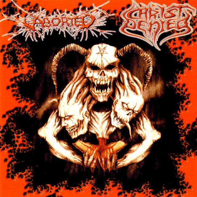 Aborted / Christ Denied Split