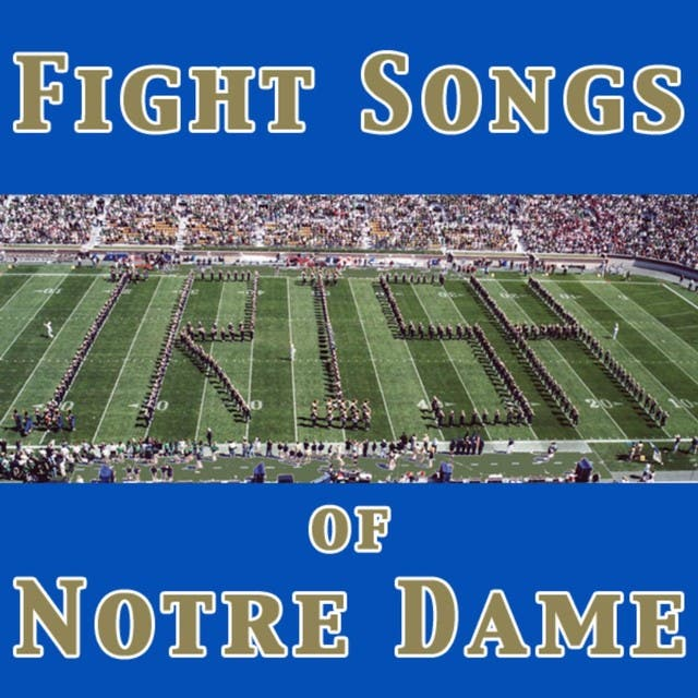 University Of Notre Dame Band Of The Fighting Irish image