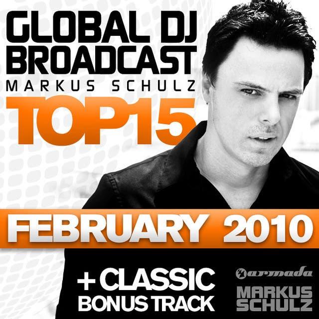 Global DJ Broadcast Top 15 - February 2010