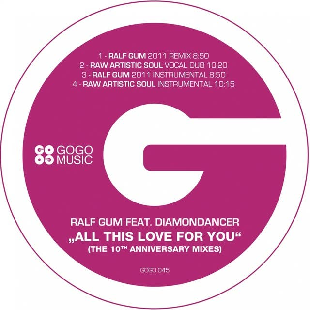All This Love For You - The 10th Anniversary Mixes (feat. Diamondancer)