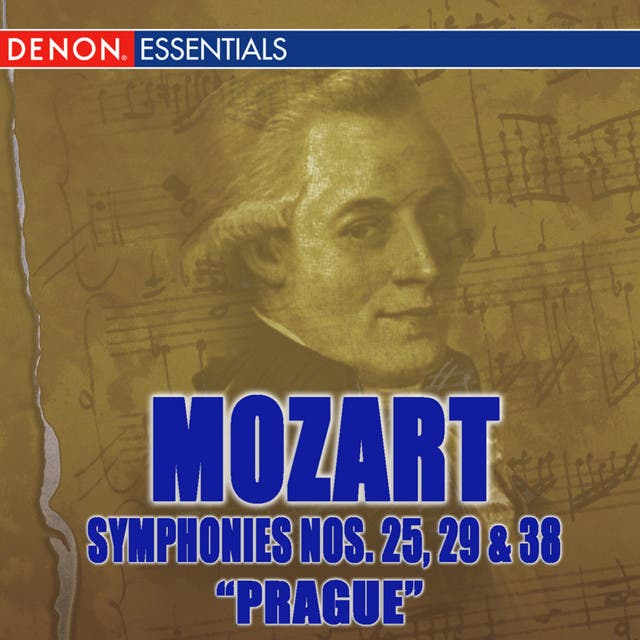 Mozart Symphonies Nos. 25, 29, & 38