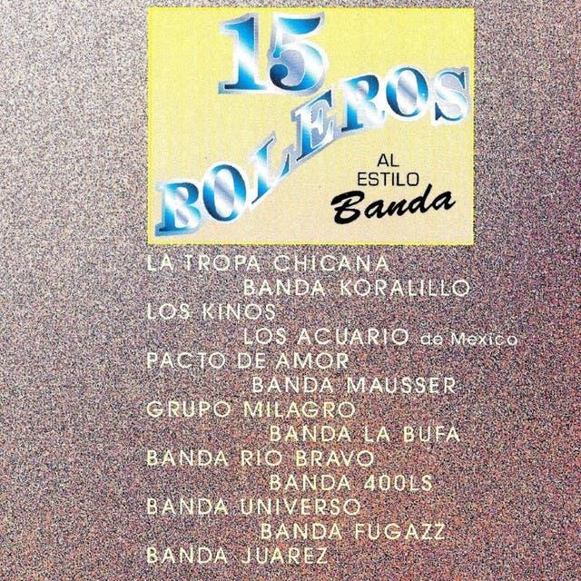 15 Boleros Al Estilo Banda