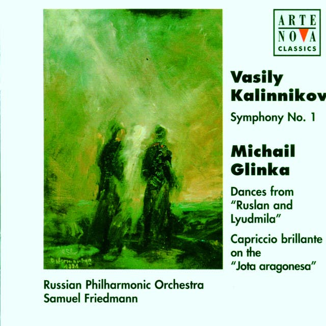 Kalinnikov: Symphony No. 1/Glinka: Dances In The Magic Gardens Of Naina/Jota Aragon