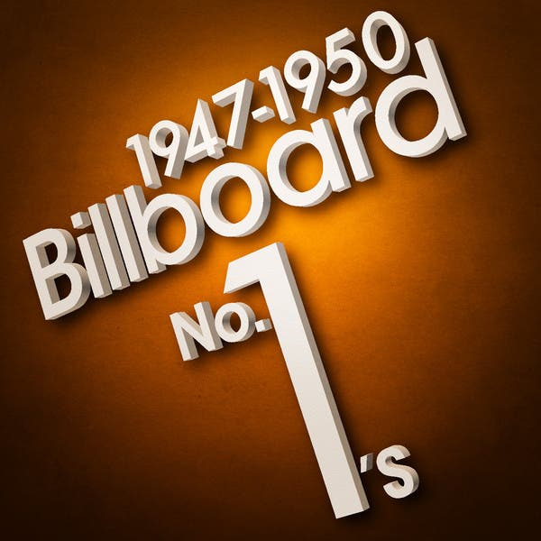 Billboard No. 1's - 1947-1950