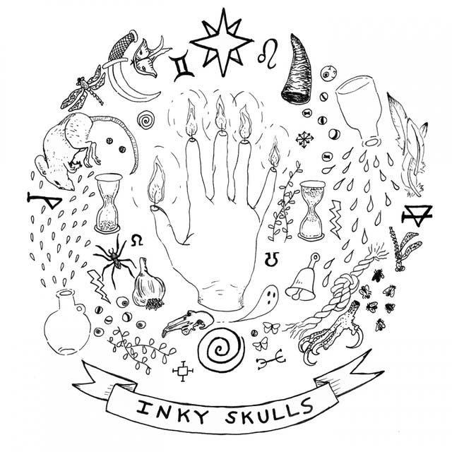 Inky Skulls