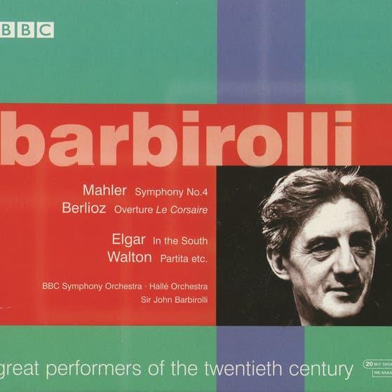 Great Performers Of The Twentieth Century: Barbirolli