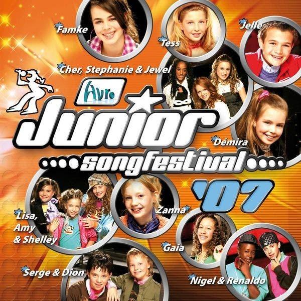 Finalisten Junior Songfestival 2007
