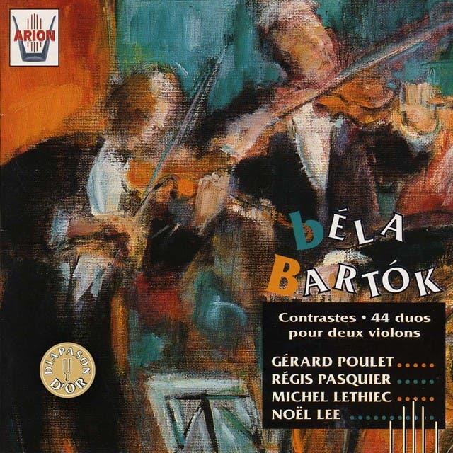 Bartok : Contrastes 44 Duos Pour 2 Violons