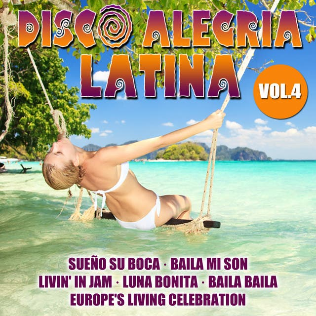 Disco Alegria Latina  Vol. 4