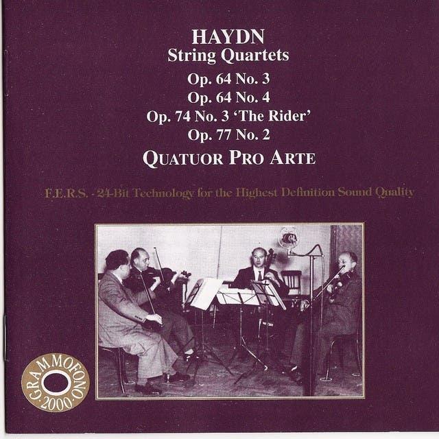 Quatuor Pro Arte image