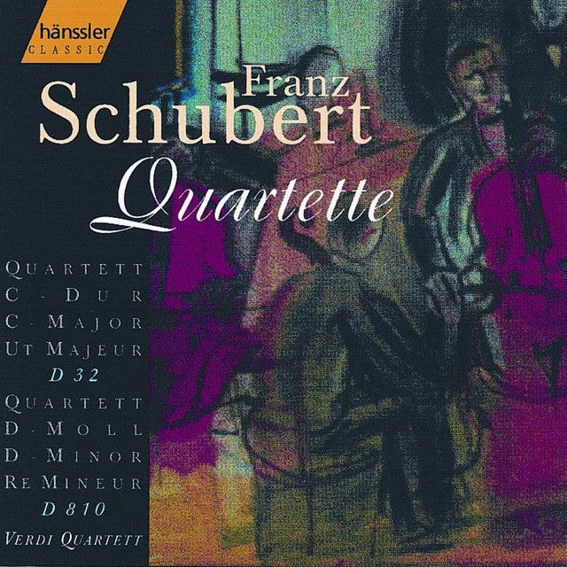 Schubert: String Quartet No. 14 in D Minor, D. 810 / String Quartet No. 2 in C Major, D. 32
