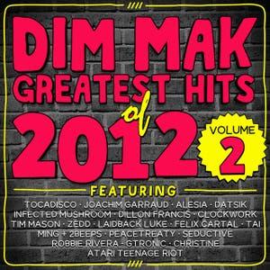 baixar capa CD Dim Mak Greatest Hits of 2012 Vol.2